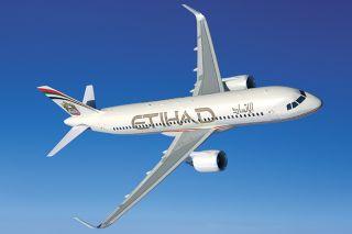 Etihad Airbus A320neo