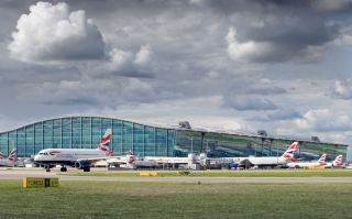 British Airways am Flughafen London Heathrow