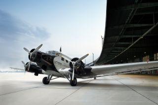 Junkers JU-52 der Lufthansa