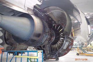 Defektes Trent 1000 einer Boeing 787-9 von Air New Zealand