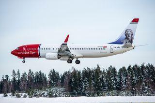 Norwegian Air Boeing 737-800 am Flughafen Stockholm Arlanda