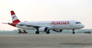 Austrian A321 OE-LBD neue Logo