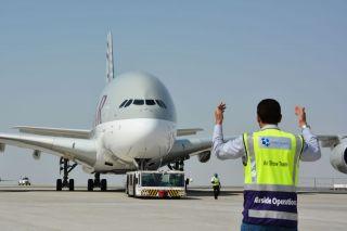 Qatar Airways Airbus A380