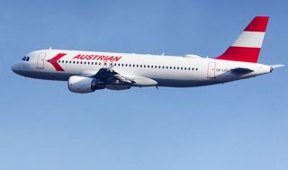 Austrian Airlines A320 im Retro-Design