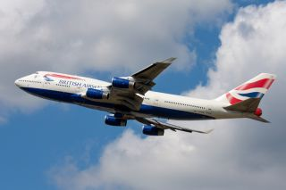 British Airways Boeing 747-400