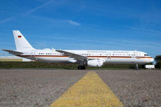 Neuer Airbus A321 für die Flugbereitschaft