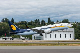 Jet Airways Boeing 737 MAX 8