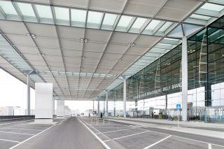 Die zentrale Terminalvorfahrt