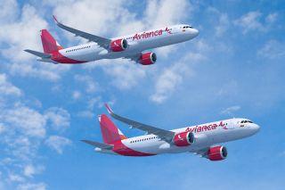 Avianca Airbus A320neo und A321neo