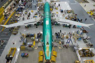 Erste Boeing 737 MAX in der Endmontage
