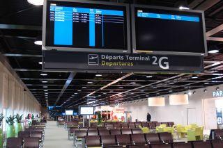 Paris CDG Terminal 2G
