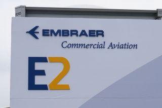 Embraer-Chalet auf der PAS15