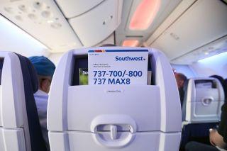 Southwest Airlines Sicherheitskarte