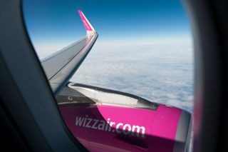 Inflight Wizzair A320
