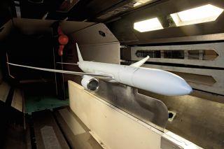Boeing 777X - Tests im Windkanal