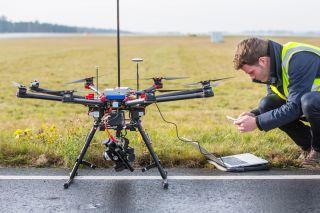Lufthansa-Drohne
