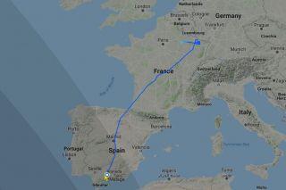 Norwegian 737 MAX Überführungsflug 8922