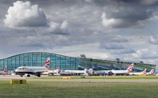 British Airways am Flughafen London Heathrow