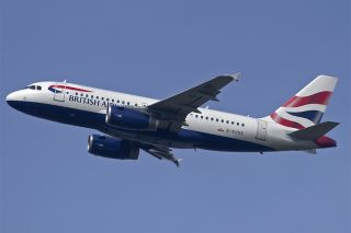 British Airways Airbus A319 G-EUOE