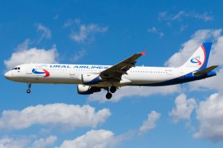 Ural Airlines Airbus A321 VQ-BOZ
