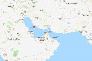 Der Persische Golf und der Golf von Oman