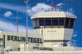 Tower Flughafen Berlin Tegel