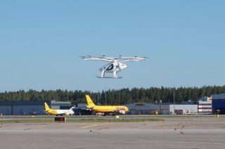 Volocopter fliegt in Helsinki