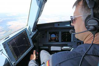 DLR testet leisere Anflüge auf Zürich