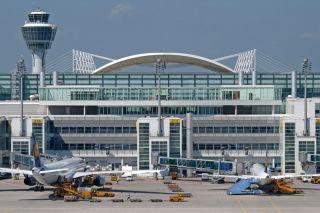 Vorfeld Flughafen München
