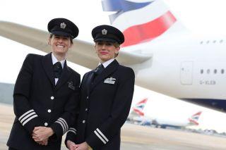 Pilotinnen bei British Airways