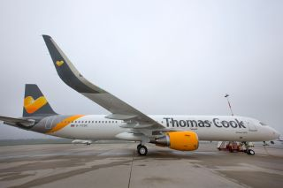 Thomas Cook Airbus A321 mit Sharklets