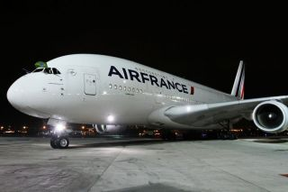 Air France Airbus A380 in Rio
