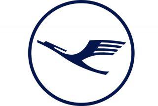 Der blaue Lufthansa-Kranich