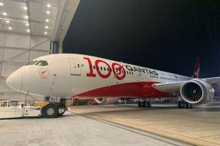 Der nagelneue Qantas Boeing 787-Dreamliner wird zum Testlabor auf der Ultralangstrecke