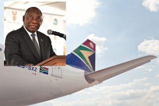 Der südafrikanische Präsident Cyril Ramaphosa