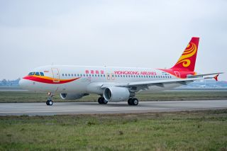Hong Kong Airlines Airbus A320