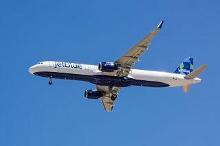 JetBlue Airbus A321 - erster Airbus aus Mobile
