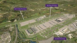 Ausbau der Flughafens London-Heathrow