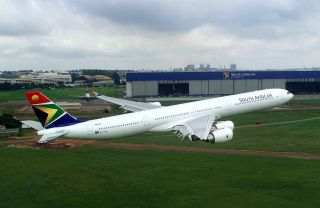 South African Airbus A340