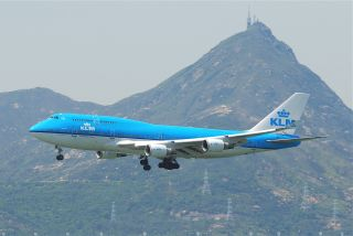 KLM Boeing 747-400 Combi