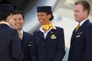 Lufthansa-Crew