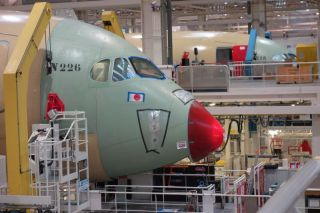 A350-Fertigungslinie in Toulouse