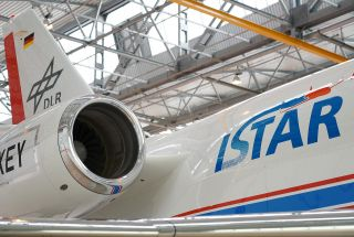 Die Falcon 2000LX ISTAR des DLR