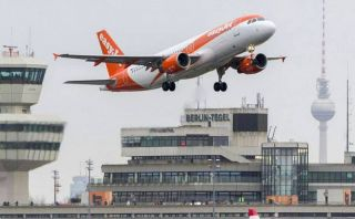 EasyJet am Flughafen Berlin-Tegel