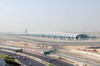 A380 Terminal Concouse A in Dubai