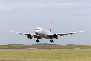 Austrian Boeing 777 in Sydney