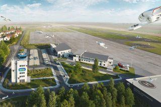 DLR Drohnen-Testzentrum Cochstedt