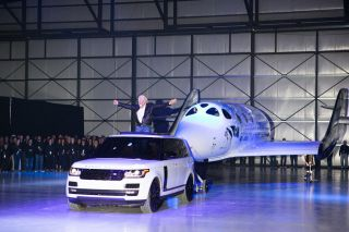 Virgin Galactic zeigt neues SpaceShipTwo