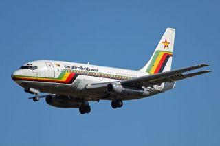 Air Zimbabwe Boeing 737-200