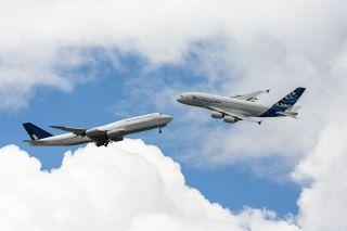 Boeing 747 und Airbus A380
